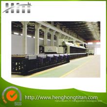 Rouleau Type Tube d'acier brillant traitement thermique four