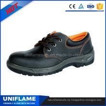 Zapatos de trabajo de seguridad de cuero de hombres industriales En20345