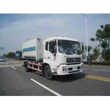 Camión de la basura de la desmontable contenedor Dongfeng 4 X 2 (HJG5160ZXX) 9,6 ton