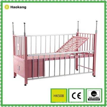 Lit d'hôpital pour équipement pour enfants médicaux réglables (HK508)