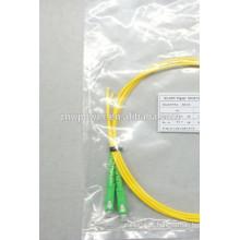 Pigtail da fibra óptica do singlemode simplex com conetor do LC