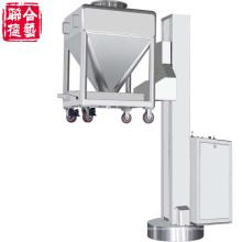 Gtx-2000 máquina de carga de elevación farmacéutica con tolva móvil