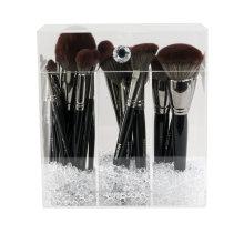 Diamond Collection Acrylic Makeup Brush Holder