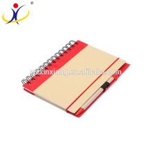 De Bonne Qualité Cahier d'exercice de papier d'emballage en gros, 13.5cm * 18cm