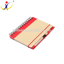 Good Quality Kraft Paper Exercise Notebook Wholesale,13.5cm*18cm
