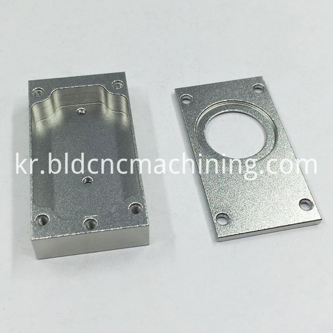 custom machining aluminum box
