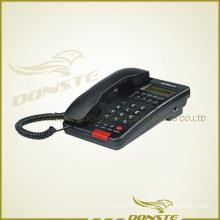 Conjunto de telefone para escritório com identificador de chamadas