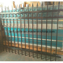 Durable Iron Fence Aluminium Fence Powder Coated Metal Fence