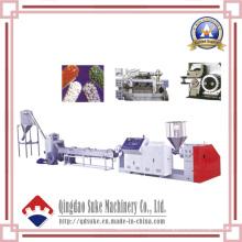 Línea de producción de granulación plástica en frío con certificación CE