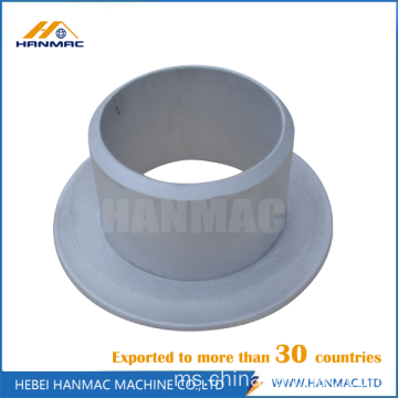 Aluminium butt weld stub end pipe fitting