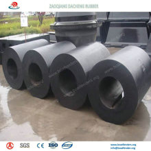 Cylindrical Rubber Fenders and W Type Fenders for Collision Avoidance in Port