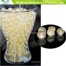 Ouro Glitter Cristal Soil Água Beads Centrepieces Decorações Do Casamento