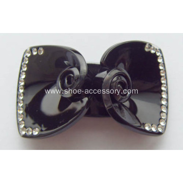 Simple Generosity Shoe Buckle, Classical Acrylic Shoe Clips