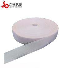 Fixation de sangle de bord de matelas en polyester personnalisé de couleur blanche