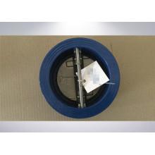 Valve de contrôle à double plaque pour l'eau douce