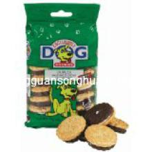 Os bolinhos plásticos do animal de estimação que empacotam o saco / saco do alimento para cães / alimento do filhote de cachorro ensacam