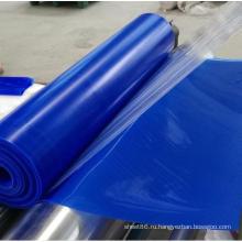 Синий Цвет Силиконовой Резины Листа Глянцевый Лист Силиконовой Резины