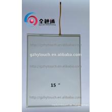 """Kundenspezifische Services 15 """"Resistive 4 Wire Touchscreen für Duplicator"""