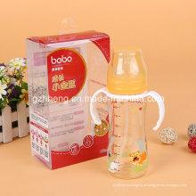 OEM-biologisch abbaubaren Kunststoff Faltbox für Baby-Flasche (PVC/PP-Geschenk-Paket)