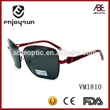 Estilo homem estilo grande tamanho marca italiana polarizado óculos de sol