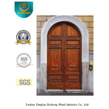Puerta de acero de seguridad estilo europeo simplificada (m2-1005)