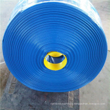High pressure PVC layflat hose with big wall thickness with OEM service