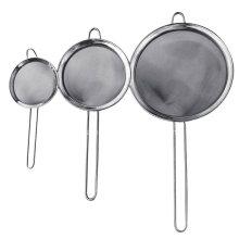 Colador multifuncional de diferentes tamaños de acero inoxidable