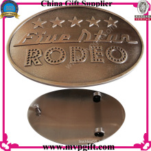 Fashion Belt Buckle with Customer Logo Engraving