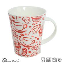 12oz New Bone China Ceramic Coffee Mug