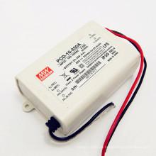 110VAC eingang 16 Watt 350ma IP30 UL PCD-16-350A mit PFC funktion meanwell triac dimmbare led-treiber