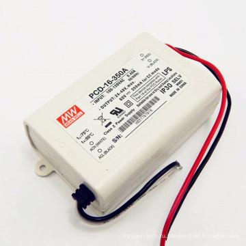 110 В переменного тока входное 350ма 16ВТ ip30 по ул ФХД-16-350А с функцией PFC водитель триак dimmable вел водителя
