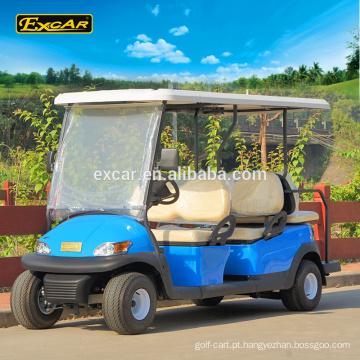 EXCAR 6 lugares baratos carrinho de golfe elétrico carrinho de golfe para venda china mini bus