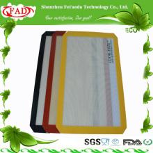 Rectángulo de la FDA Estera elegante hermosa linda del calor del silicón resistente