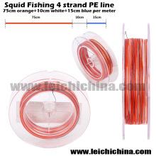 New Squid 4 Strands Braided Fishing Line