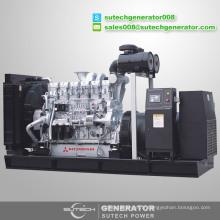 Usine d'approvisionnement Japon Original 750kva Mitsubishi moteur diesel générateur