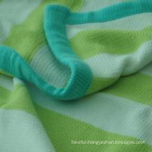Soft Cotton Sweater Knit Baby Blanket CB-K1306