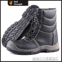 Winter Leather Safety Boots with High Cutting Upper (Sn5341)