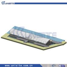 Plataforma de plataforma de acero de montaje para la construcción marina (USA-2-004)