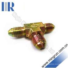 Adaptateur de tube d'adaptateur de raccord en T mâle métrique (AQ)