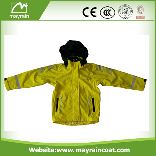 Low Price Kids PU Raincoat