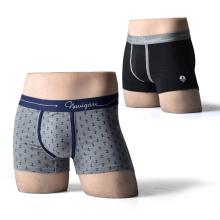 El OEM diseñó el boxeador de la alta calidad del diseño cuatro ropa interior de los pantalones de los escritos de la esquina