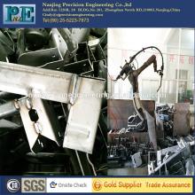 Precision cnc machining welding parts,mechanical arm welding auto parts