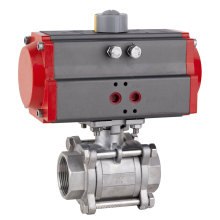 Actuador neumático 3-PCS Válvula de bola