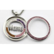 316L Нержавеющая сталь медальон кулон с Маной монетку для подарка