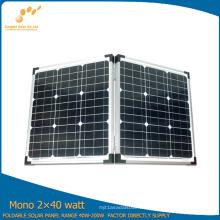 Panel solar plegable de 80W con alta calidad
