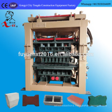 Simple manufacturing machine QT8-15 hollow cement concrete blocks price