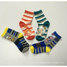 Cotton Polyester Cartoon Baby Kids Children Boys Girls Happy Socks