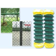 PVC Coated Diamond Chain Link Fence