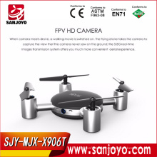 MJX New Arrival X906T! 2.4GHz mini rc quadcopter with 6-axis gyros camera drone shantou chenghai toys