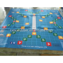 Rubber large extended Flying Chess board game mat